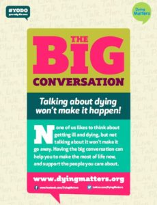 Dying Matters poster